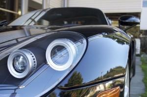 Jerry Seinfeld's Porsche Carrera GT Front lights