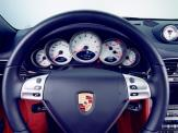 Porsche 997 911 Carrera C4S wallpaper Steering angle view