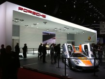 2011 Geneva Motor Show The Porsche Stand at Geneva 2011