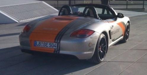 2011 Electric Porsche Boxter E Rear angle