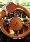 Kid Cudi 2011 Porsche Panamera Kid Cudi Steering wheel