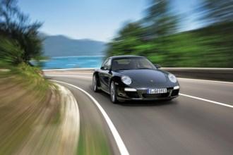 2011 Porsche 911 Black edition Front view