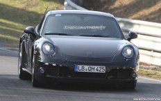 2012 Porsche 911 (991) spy shots Front view