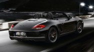 2012 Porsche Boxster S Black Edition Rear angle view