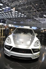 2011 Mansory Porsche Cayenne Turbo Front view
