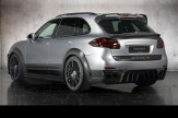 2011 Mansory Porsche Cayenne Turbo Rear angle view