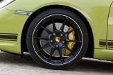 Peridot Metallic 2011 Porsche Cayman R Wheel