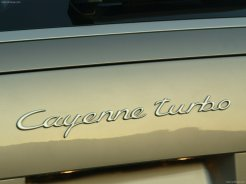 Porsche Cayenne Turbo 2004 1600x1200 wallpaper Sign