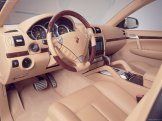 Umber Metallic Porsche Cayenne Turbo S 2006 1600x1200 wallpaper Interior