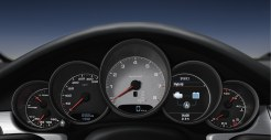 Cristal Green Metallic Porsche Panamera S Hybrid 2011 wallpaper Interior Dashboard