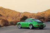 2011 Singer Racing Green Porsche 911 Side view