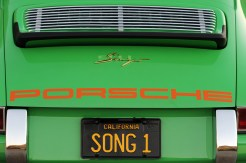 2011 Singer Racing Green Porsche 911 Rear view