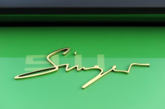 2011 Singer Racing Green Porsche 911 Sign