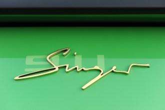 2011 Singer Racing Green Porsche 911 Sign
