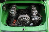 2011 Singer Racing Green Porsche 911 Engine