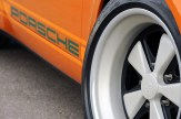 Singer Racing Orange Porsche 911 Wheel