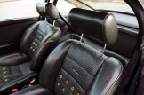 Singer Racing Orange Porsche 911 Interior Seats