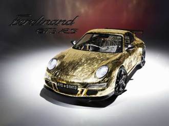 SSlowest Porsche Ferdinand GT3 RS front+top