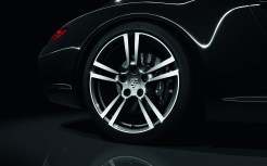 2011 Black Porsche 911 Black Edition Wallpaper Wheel