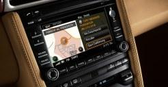 2011 Black Porsche 911 Carrera 4 Wallpaper Interior LCD screen