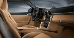 2011 Gold Porsche 911 Carrera 4 Cabriolet Wallpaper Interior