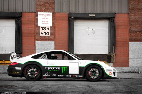 2011 Porsche 911 GT3 RS Monster Side view