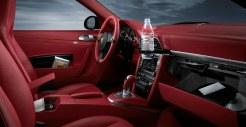2011 Red Porsche 911 carrera 4S Wallpaper Interior