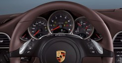 2011 White Porsche 911 Carrera GTS Cabriolet Wallpaper Interior Dashboard