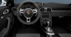 2011 White Porsche 911 Carrera GTS Wallpaper Interior Steering wheel