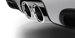 2011 Carrara White Porsche Boxster Spyder wallpaper Exhaust