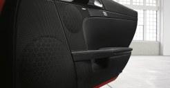 2011 Guards Red Porsche Boxster S wallpaper Interioor doors Audio
