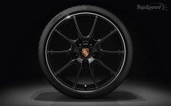 2011 Porsche Boxster S Black Edition Wheel