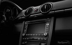 2011 Porsche Boxster S Black Edition Interior LCD screen