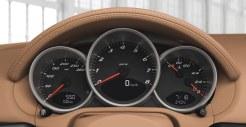 2011 Porsche Racing Green Metallic Boxster Interior Dashboard