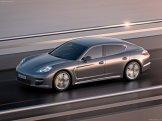 2012 Porsche Panamera Turbo S Wallaper Side angle view