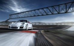 Limited White 2011 Porsche 911 GT3 RS 4.0 wallpaper Front angle view