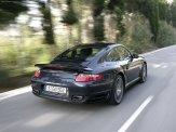 2007 Porsche 911 Turbo Wallpaper Rear angle side view