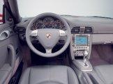 2007 Red Porsche 911 Targa 4 Wallpaper Interior