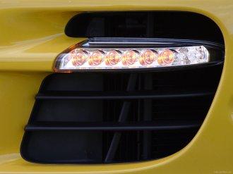 2007 Yellow Porsche 911 Turbo Wallpaper Front bumper