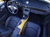 2007 Yellow Porsche 911 Turbo Wallpaper Interior