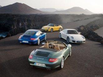 2009 Porsche 911 Carrera Wallpaper