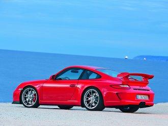 2010 Red Porsche 911 GT3_Wallpaper_001