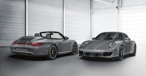 2011 Grey Porsche 911 Carrera 4 GTS Coupe and Cabriolet