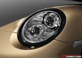 Limited Porsche 911 Turbo S China 10 Year Anniversary Edition Front view Head lamp