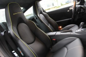 Limited edition: Porsche 911 Turbo S Edition 918 Spyder Interior Seats
