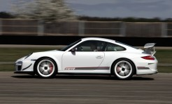 Porsche review 2011 Porsche 91 GT3 RS 4.0 First drive Side view