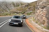 New Porsche 911 (Porsche 991) first drive Front view