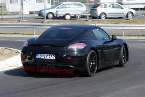 Porsche Spy Shots