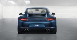 2012 new porsche 911 Carrera S Rear view