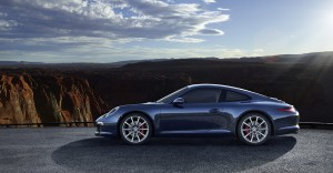 2012 new porsche 911 Carrera S Side view
